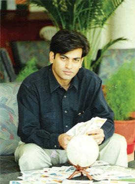 Anupam V. Kapil - Palm reader